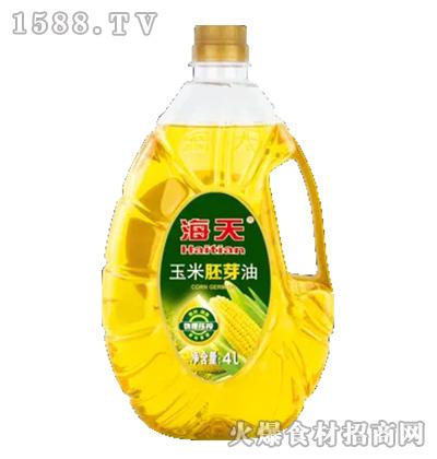 海天玉米胚芽油【4L】
