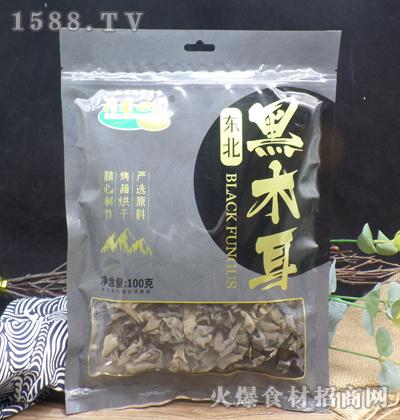 荷香田园东北黑木耳【100克】