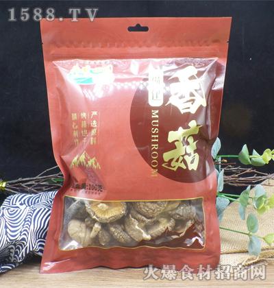 荷香田园福建香菇【100克】