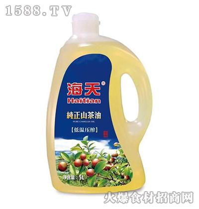 海天纯正山茶油【5L】