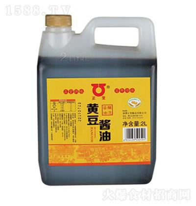 正堂黄豆酱油【2L】