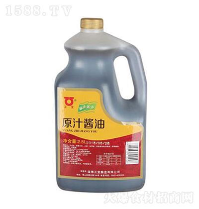 正堂原汁酱油【2.5L】