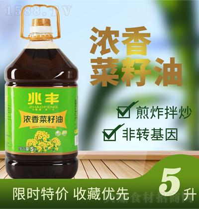 兆丰浓香菜籽油【5L】