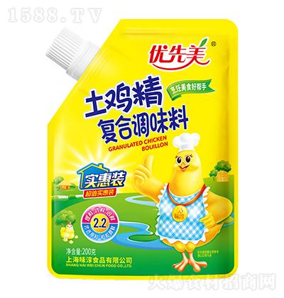优先美土鸡精复合调味料200g