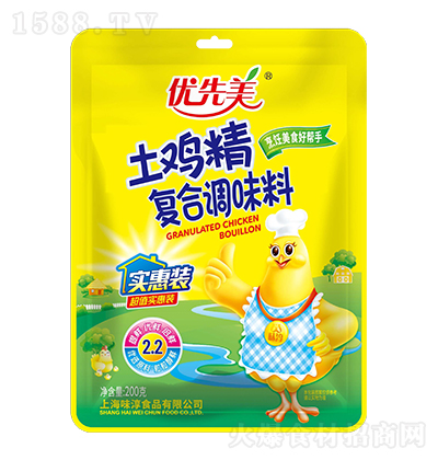 优先美土鸡精复合调味料【200克】