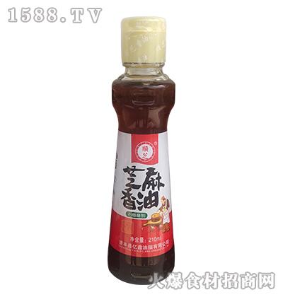顺芝芝麻香油【210ml】