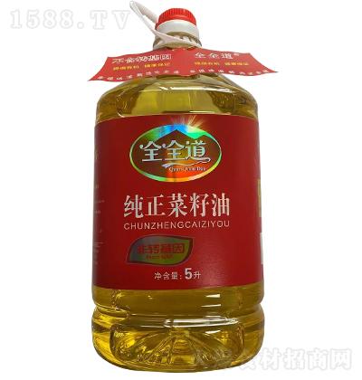全全道纯正菜籽油【5L】