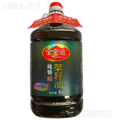 全全道纯特菜籽油【5L】