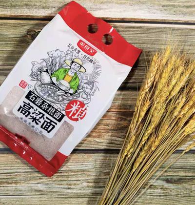 金食全石磨杂粮面-高粱面【600g】