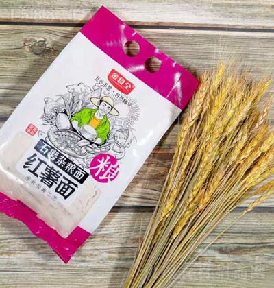 金食全石磨杂粮面-红薯面【600g】