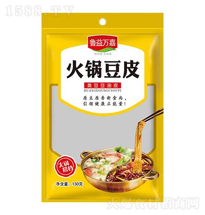 鲁益万嘉火锅豆皮【130克】