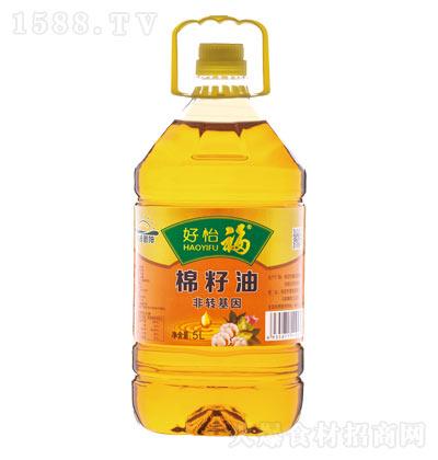 好怡福棉籽油【5L】