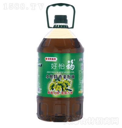 好怡福小榨特香菜籽油【5L】