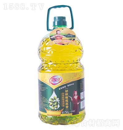 家泰初榨橄榄原香食用植物调和油5L