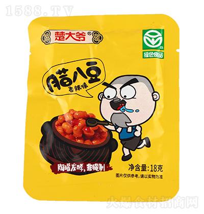 楚大爷香辣味腊八豆【18克】