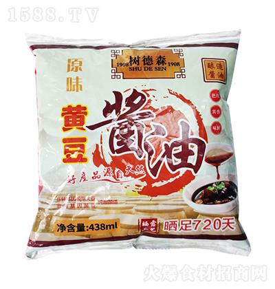 树德森原味黄豆酱油【438ml】