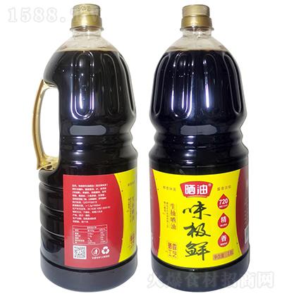 晒油味极鲜生抽晒油【1.8L】