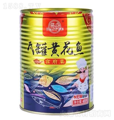 岱岳瓦罐黄花鱼【400克】