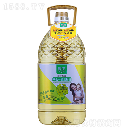 聚吧双低一级菜籽油【5L】