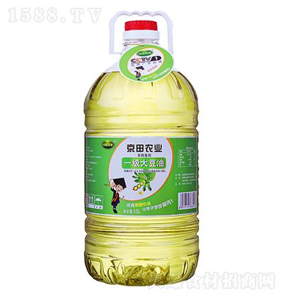 京田农业一级大豆油【10L】