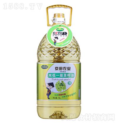 京田农业双低一级菜籽油【5L】