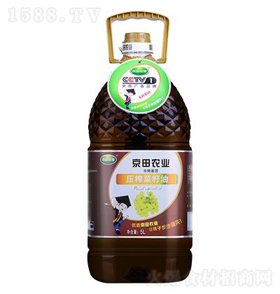 京田农业压榨菜籽油【5L】