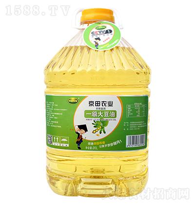 京田农业一级大豆油【20L】
