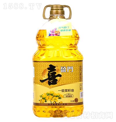喜盈门一级菜籽油5L
