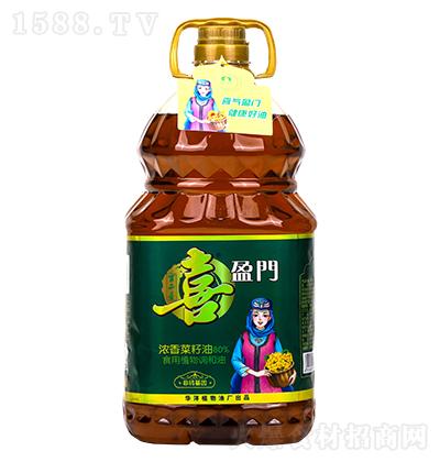 喜盈门浓香菜籽油-食用植物调和油【5L】
