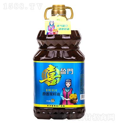 喜盈门原香菜籽油【5L】
