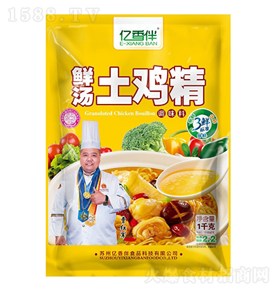 亿香伴鲜汤土鸡精1千克