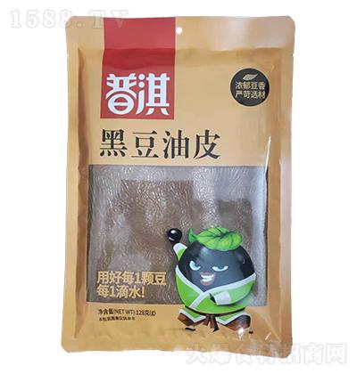 普淇黑豆油皮【128克】