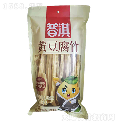 普淇黄豆腐竹【350克】