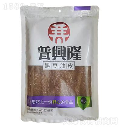 普兴隆黑豆油皮【125克】
