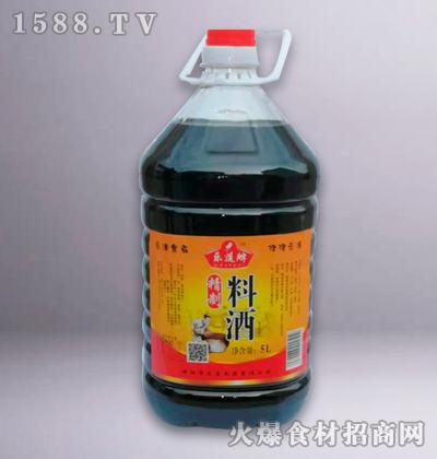 乐道牌精制料酒5L