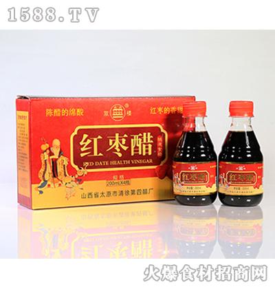 双楼红枣醋200ml*4瓶