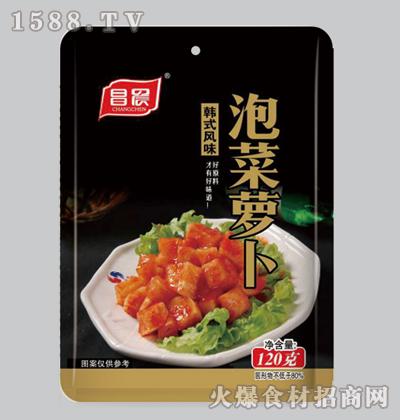 昌晨韩式风味泡菜萝卜120克