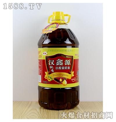 汉鑫源纯香小榨菜籽油5L