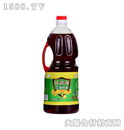 汉鑫源纯正菜籽油2.5L