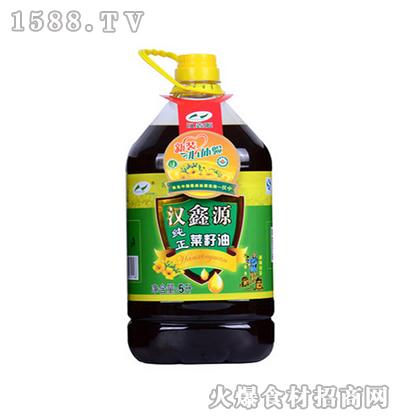 汉鑫源纯正菜籽油5L