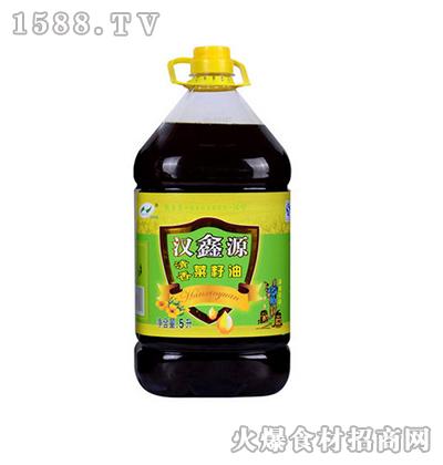 汉鑫源清香菜籽油5L