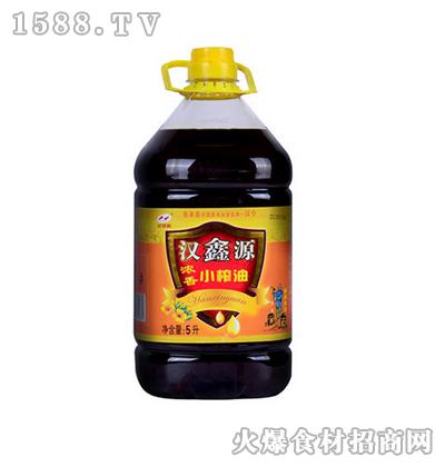 汉鑫源浓香小榨油5L