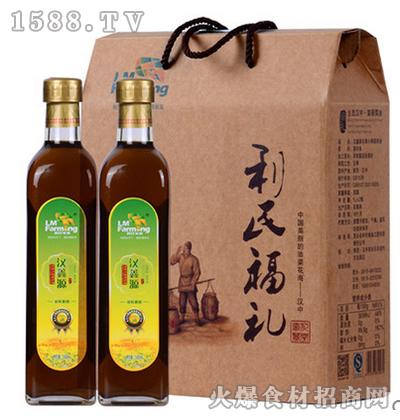 汉鑫源农家小榨菜籽油礼盒