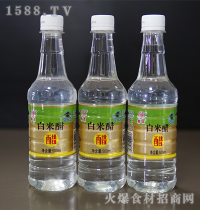 苏花白米醋500ml