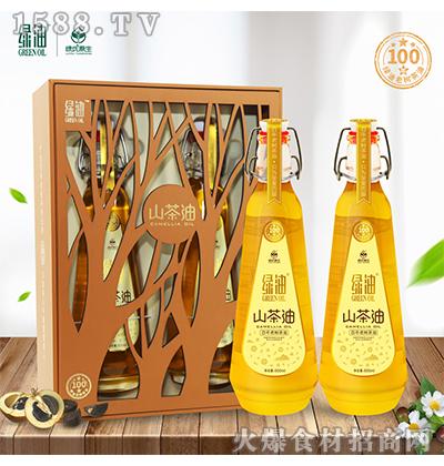 绿油百年老树茶油500MLx2瓶原香型