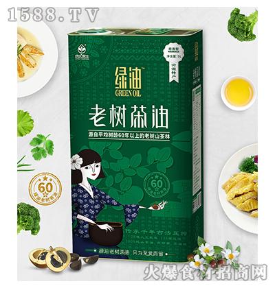 绿优原生老树山茶油5L原香型
