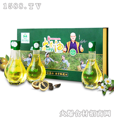 绿优原生老树山茶油125ML*4体验型