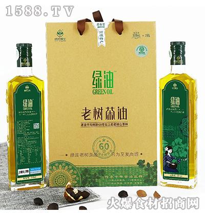 绿优原生老树山茶油500ML*2原香型