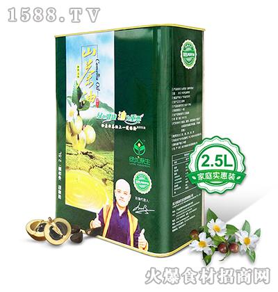 绿优原生老树山茶油2.5L原香型