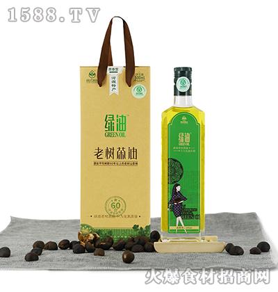 优原生老树山茶油500ML清香型